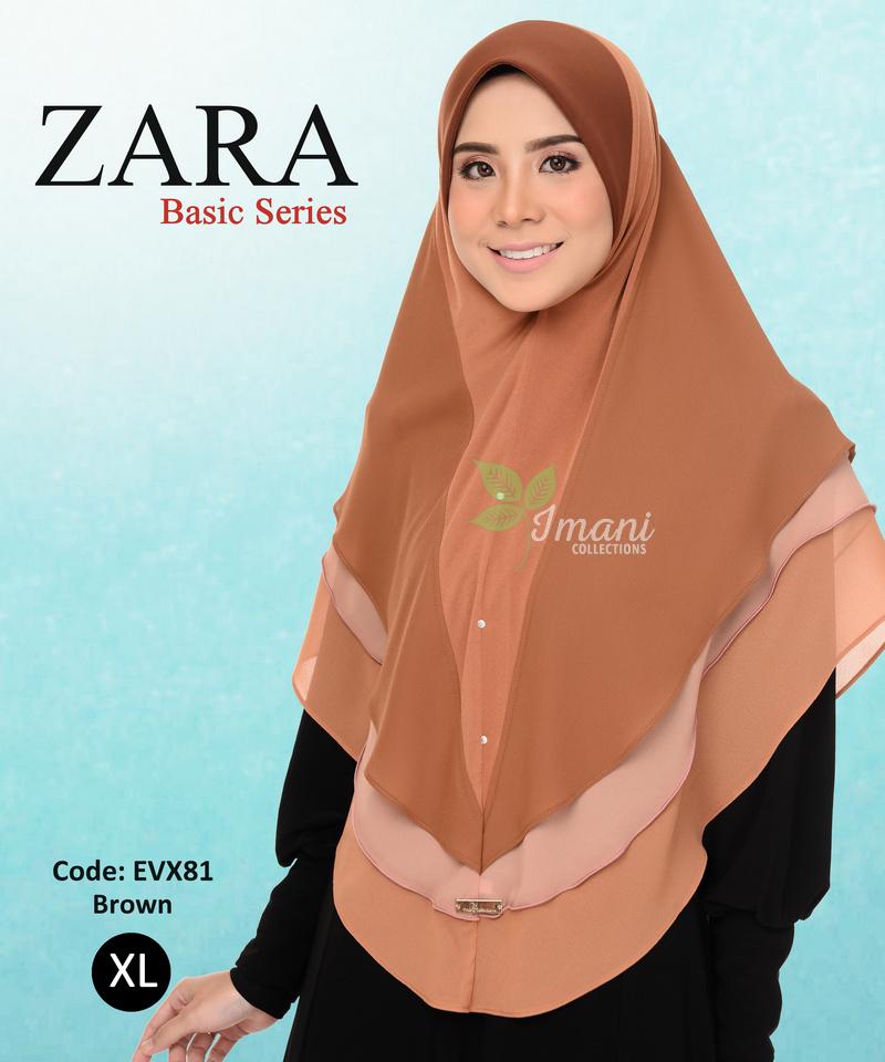 EVX81R - Tudung Zara XL (REJECT)