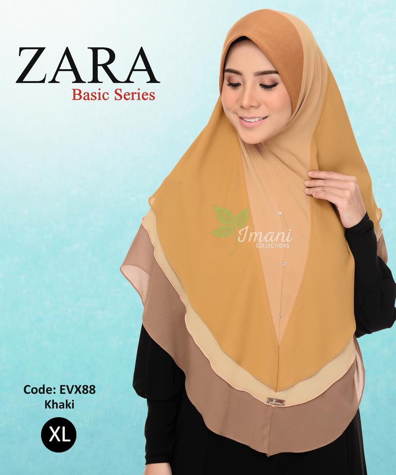 EVX88R - Tudung Zara XL (REJECT)