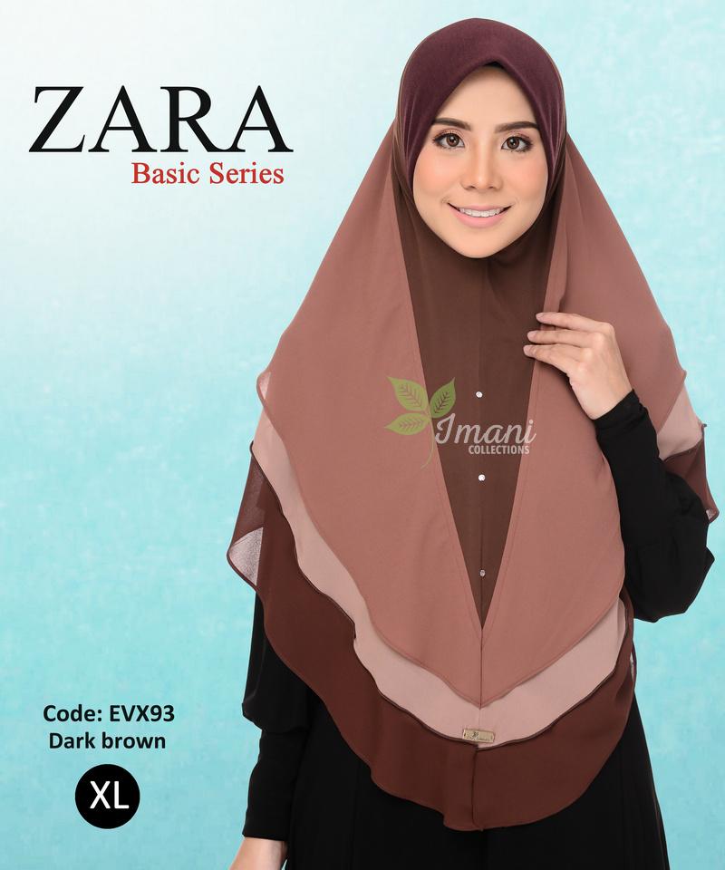 EVX93R - Tudung Zara XL (REJECT)