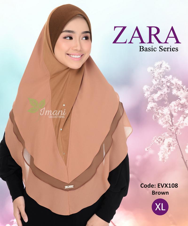 EVX108 - Tudung Zara XL