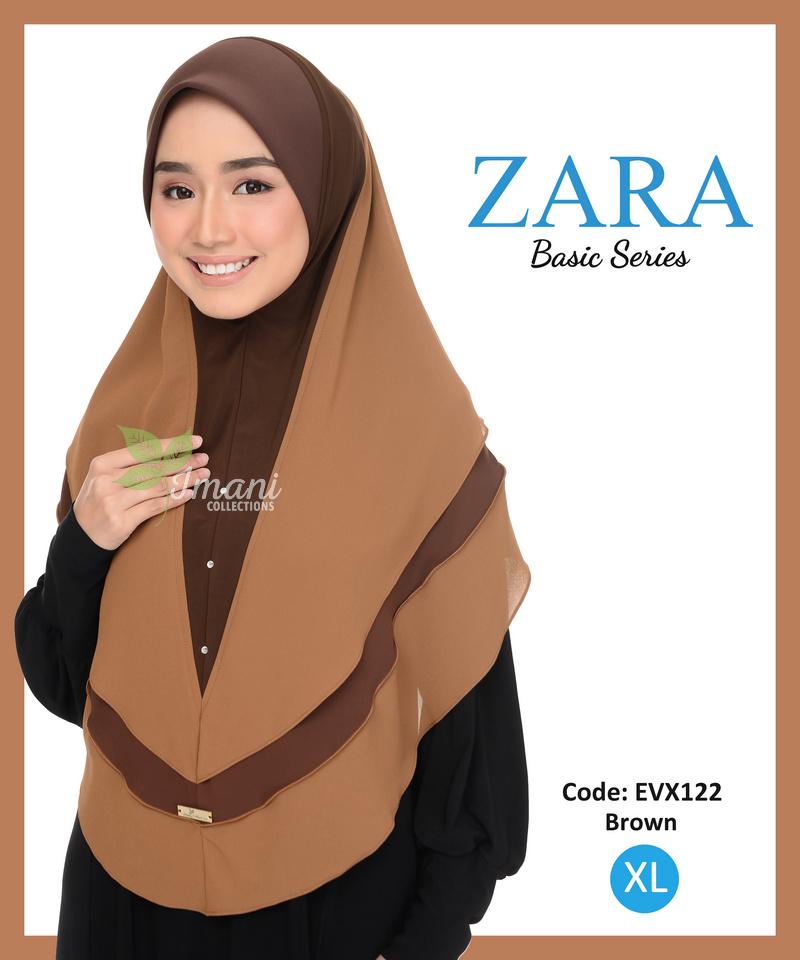 EVX122 - Tudung Zara XL