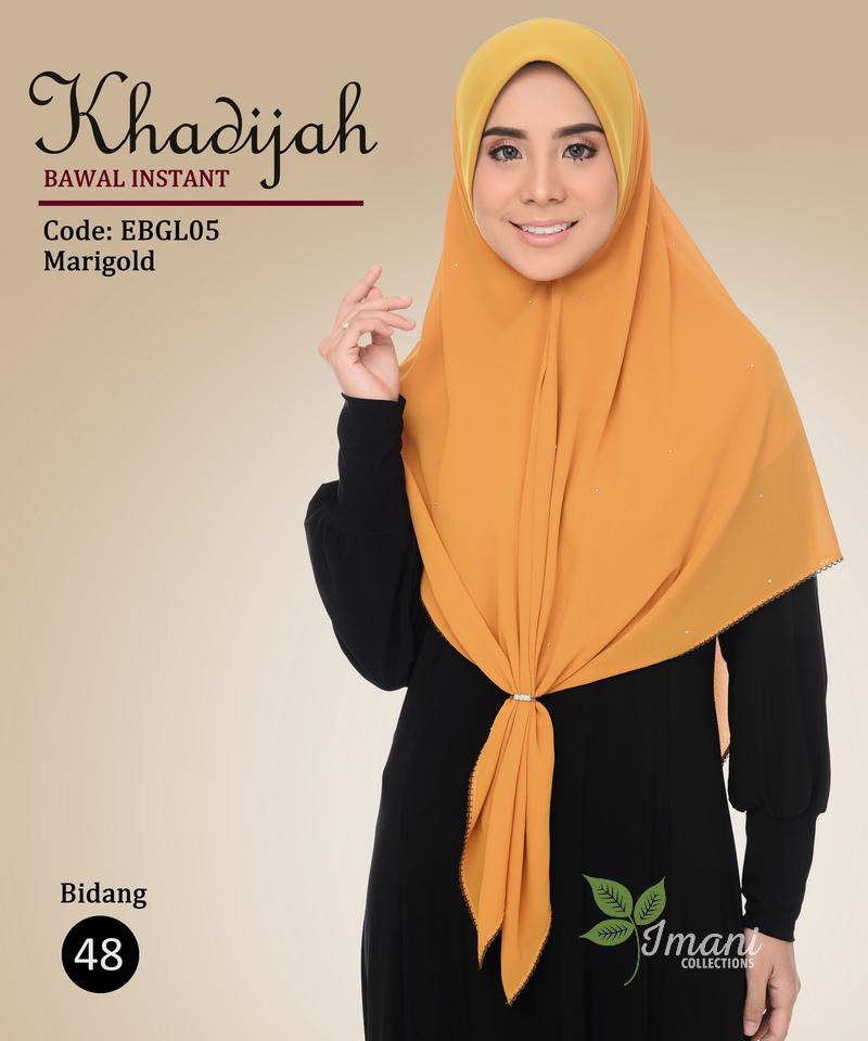 EBGL05 - Bawal Instant Khadijah L