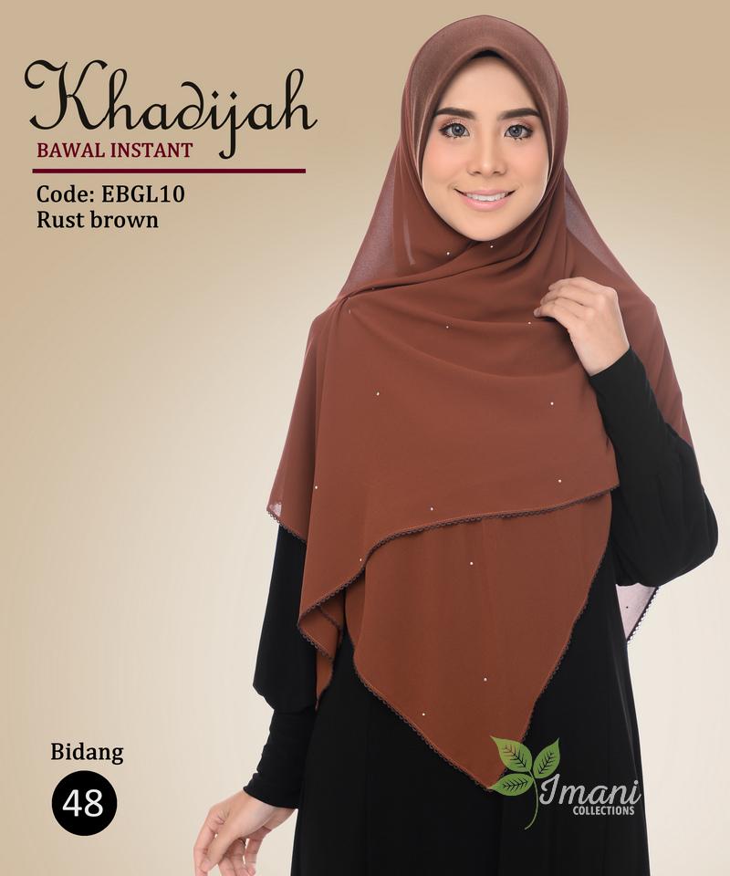 EBGL10 - Bawal Instant Khadijah L