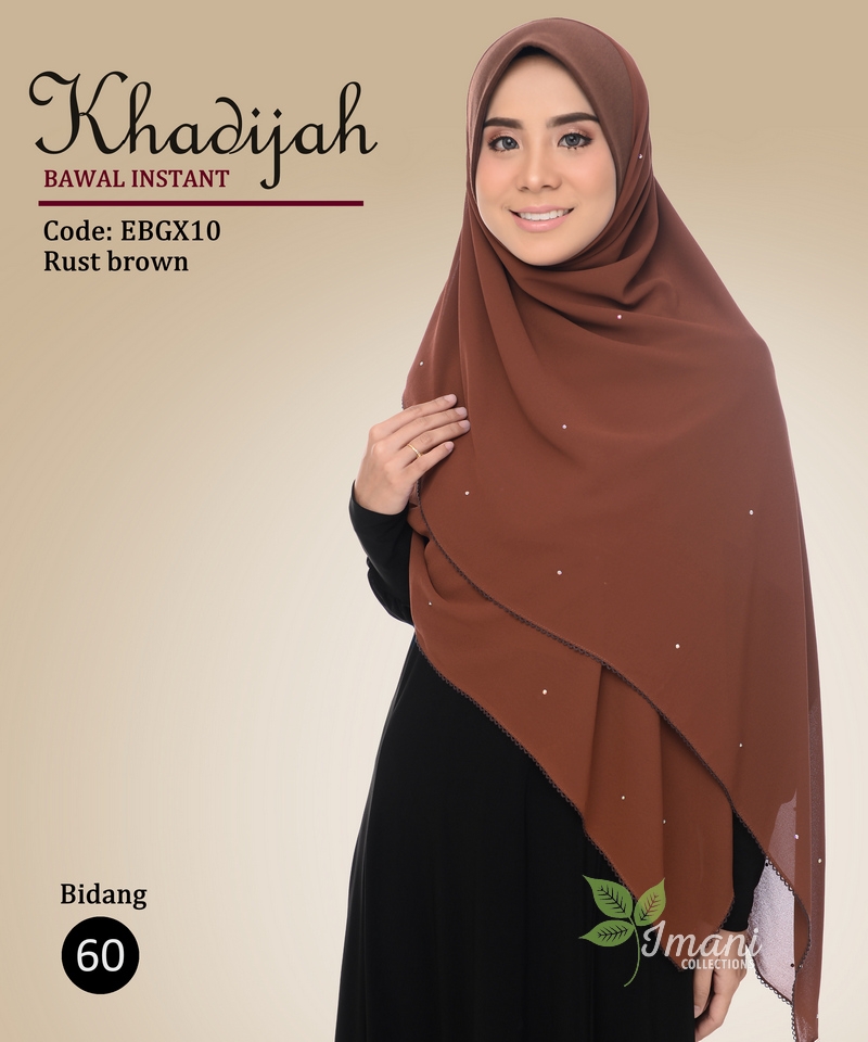 EBGX10 - Bawal Instant Khadijah XL