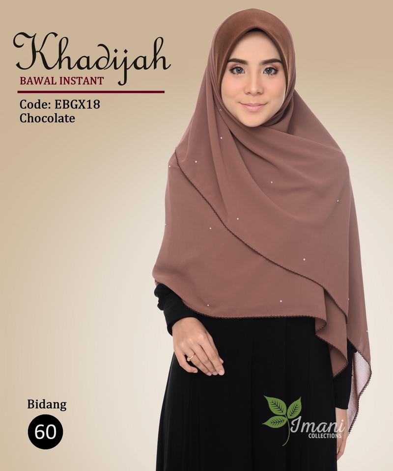 EBGX18 - Bawal Instant Khadijah XL