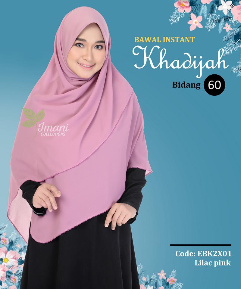 EBK2X01 - Bawal Instant Khadijah XXL