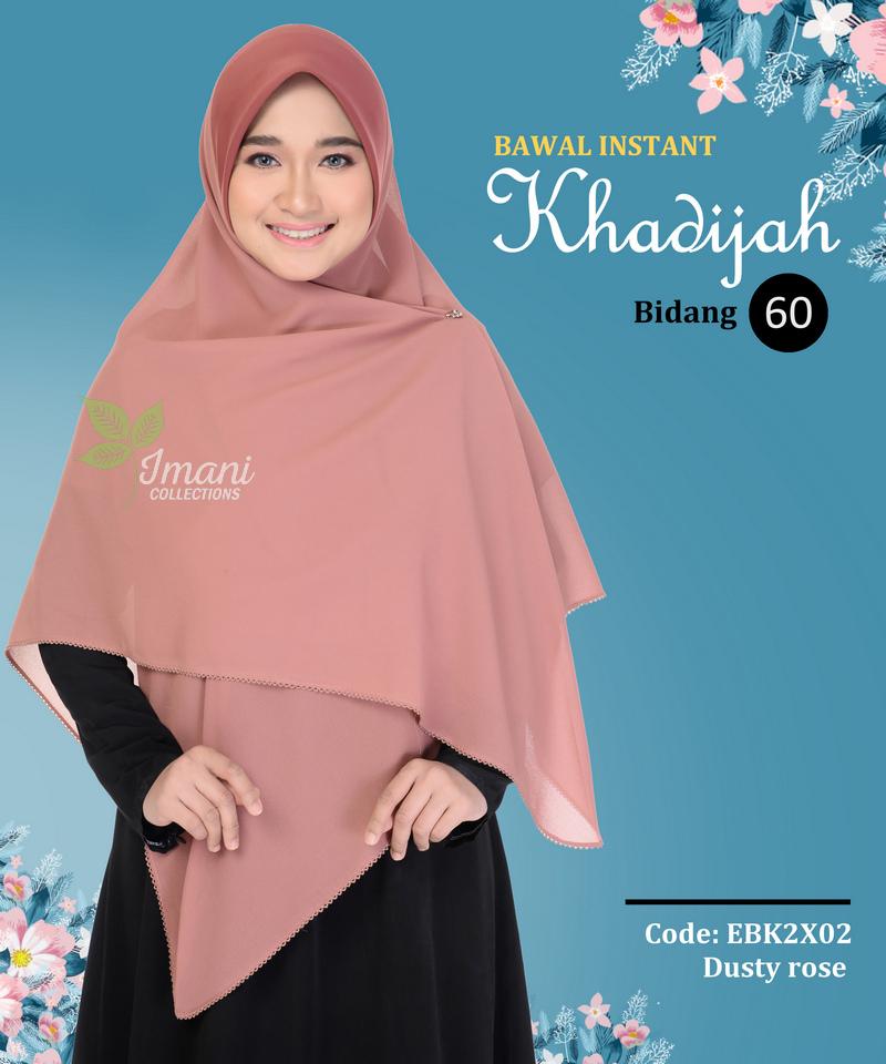 EBK2X02 - Bawal Instant Khadijah XXL