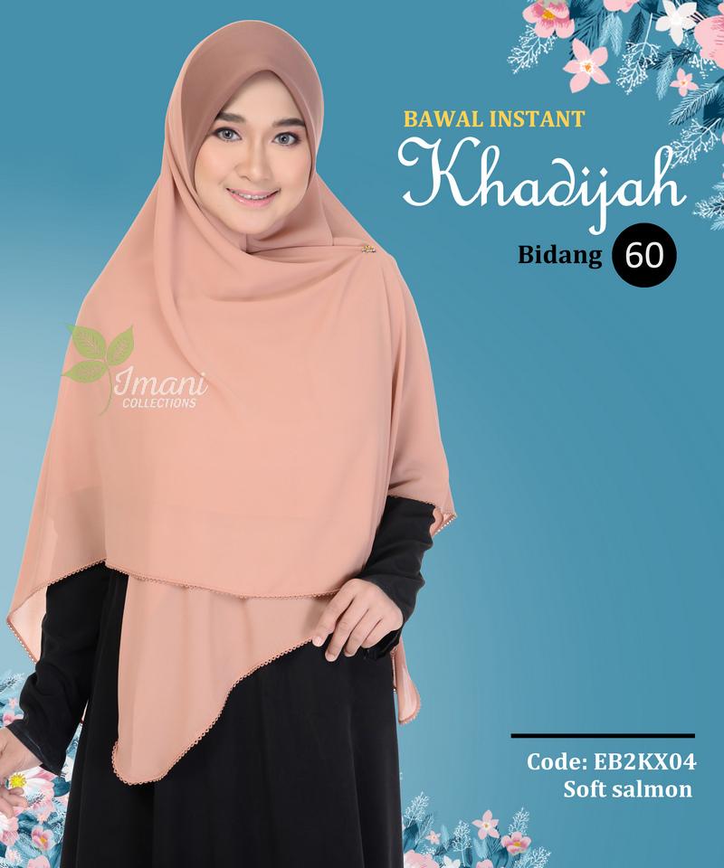 EBK2X04 - Bawal Instant Khadijah XXL