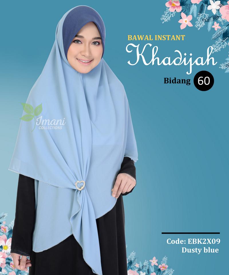 EBK2X09 - Bawal Instant Khadijah XXL
