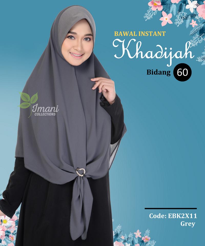 EBK2X11 - Bawal Instant Khadijah XXL