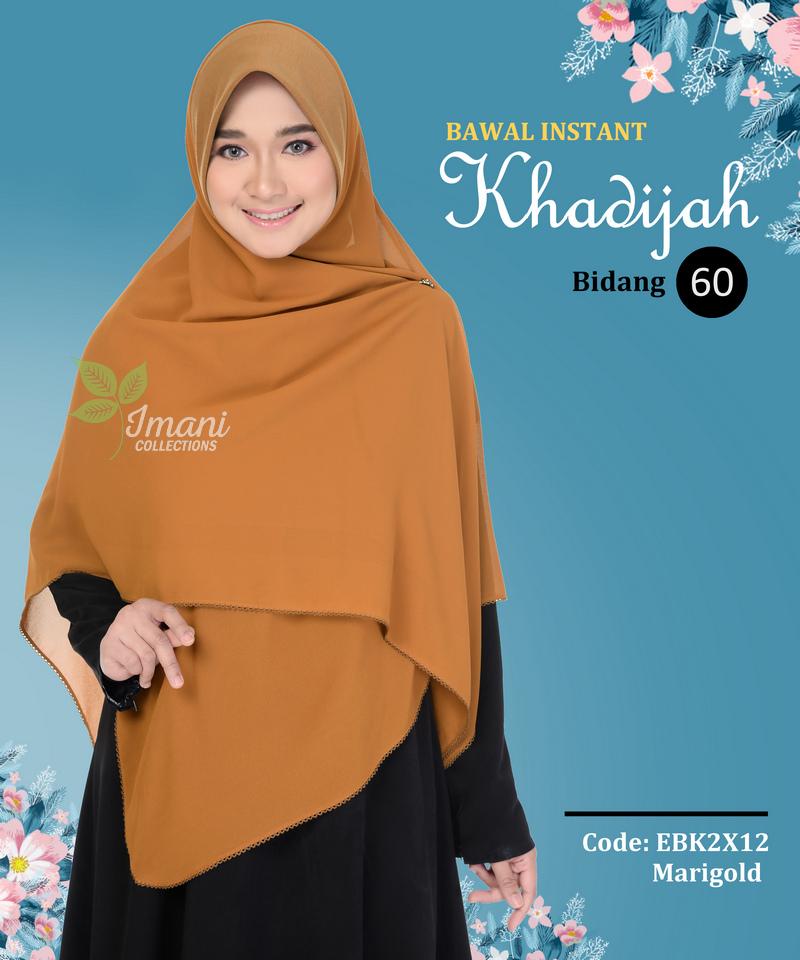 EBK2X12 - Bawal Instant Khadijah XXL