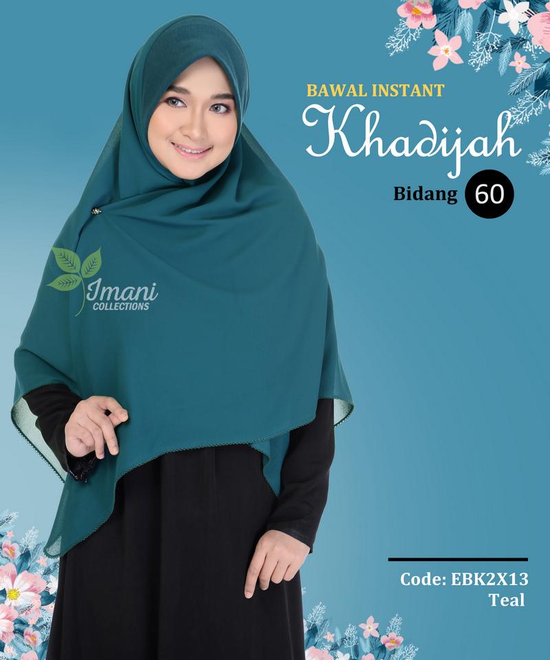 EBK2X13 - Bawal Instant Khadijah XXL