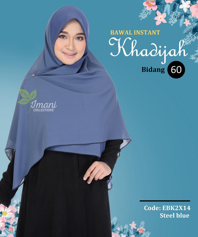 EBK2X14 - Bawal Instant Khadijah XXL