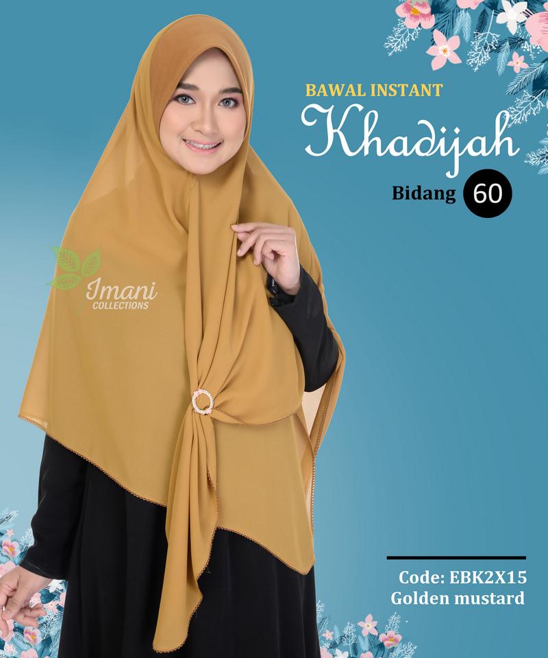 EBK2X15 - Bawal Instant Khadijah XXL