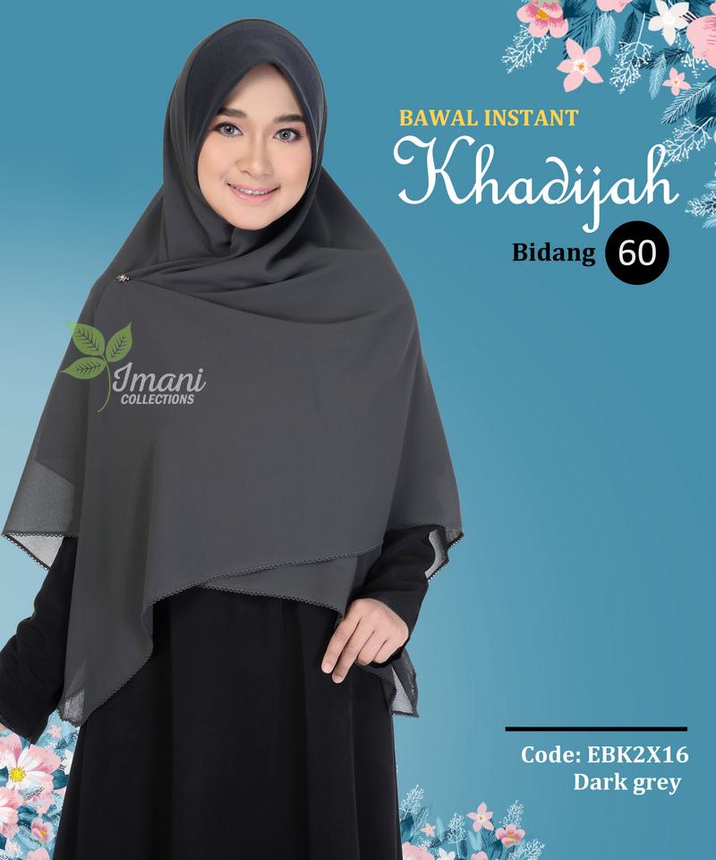 EBK2X16 - Bawal Instant Khadijah XXL