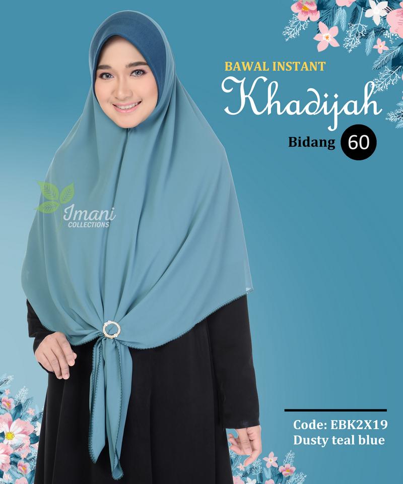 EBK2X19 - Bawal Instant Khadijah XXL