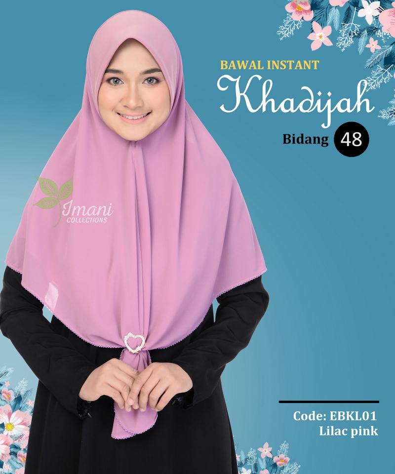 EBKL01 - Bawal Instant Khadijah L