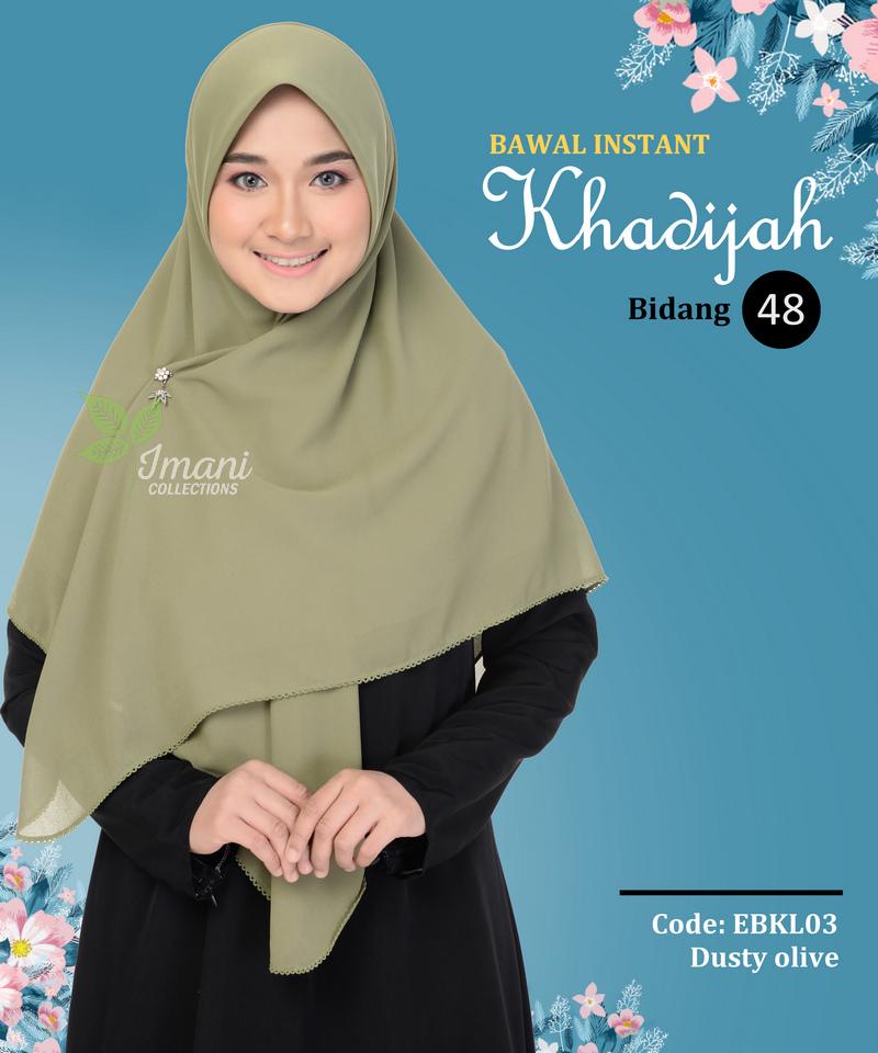 EBKL03 - Bawal Instant Khadijah L
