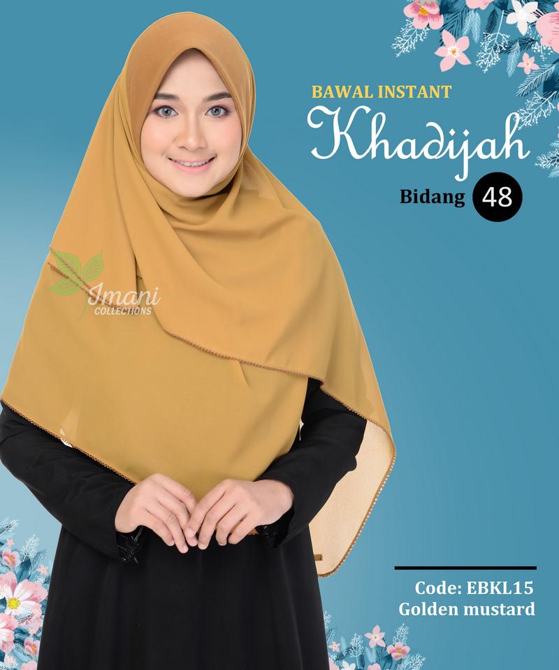 EBKL15 - Bawal Instant Khadijah L