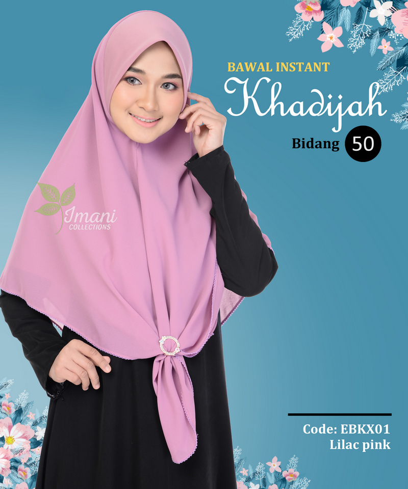 EBKX01 - Bawal Instant Khadijah XL
