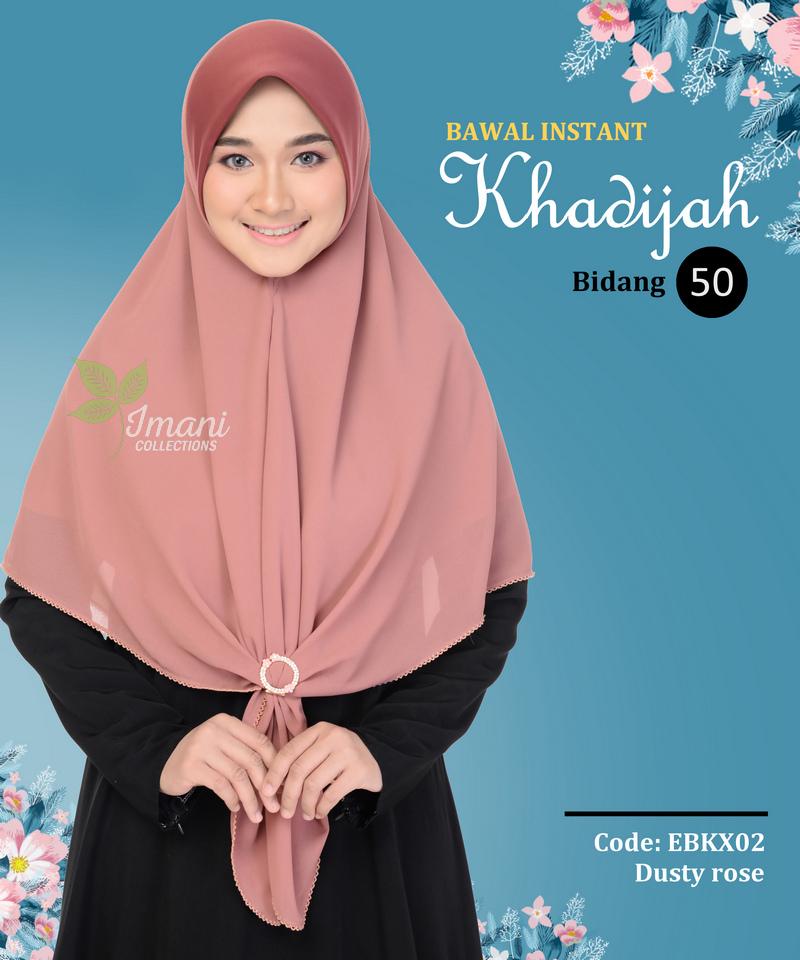 EBKX02 - Bawal Instant Khadijah XL