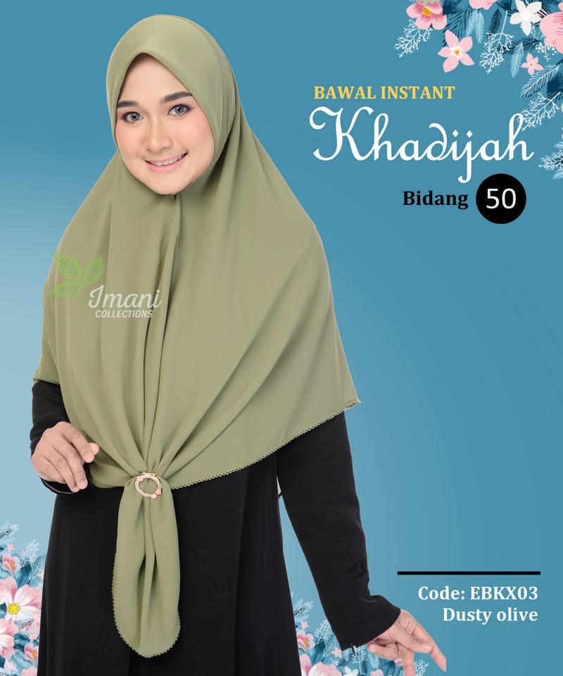 EBKX03 - Bawal Instant Khadijah XL