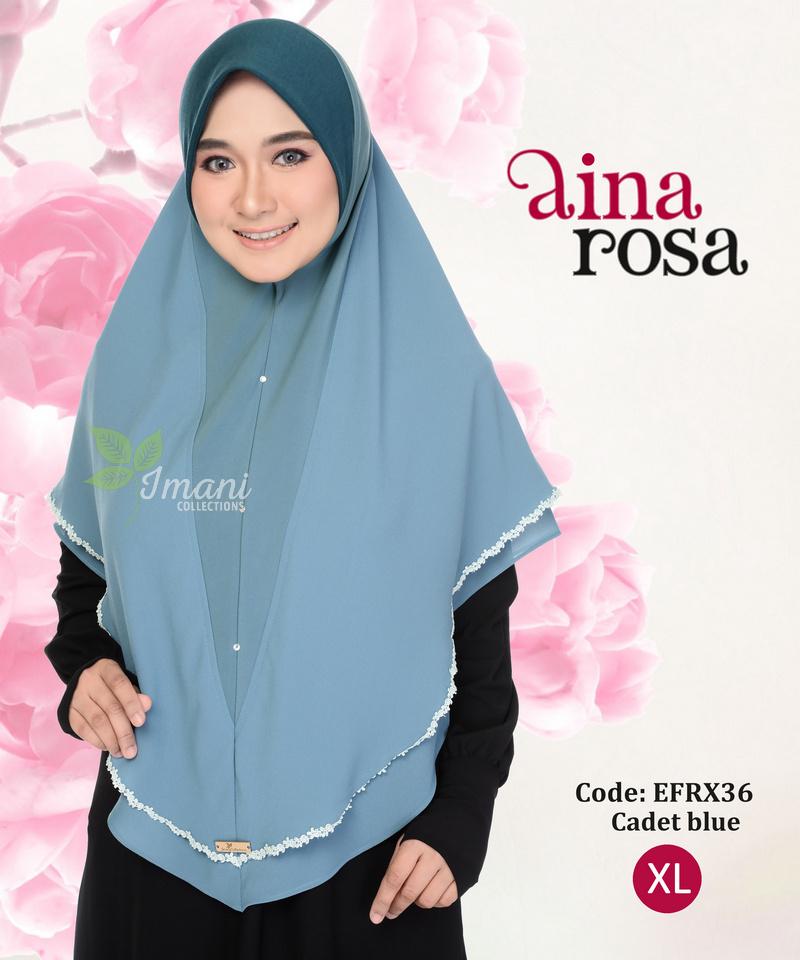 EFRX36 - Tudung Aina Rosa XL