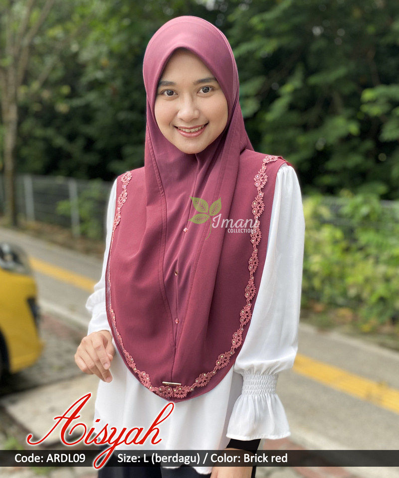 ARDL09 - Tudung Aisyah L (BERDAGU)