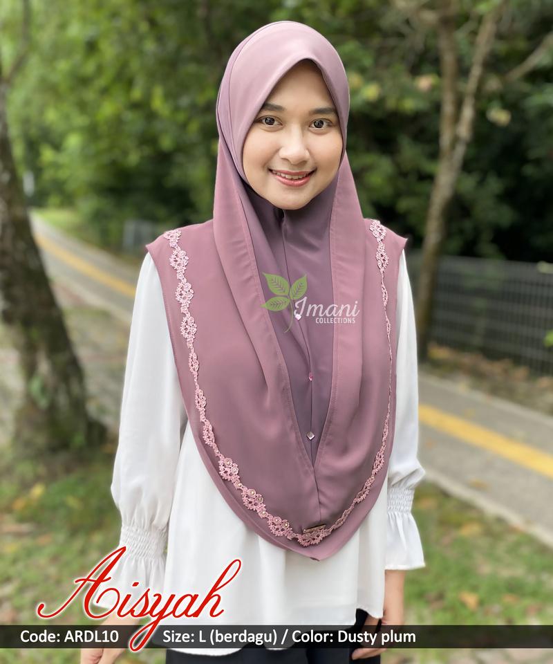 ARDL10 - Tudung Aisyah L (BERDAGU)