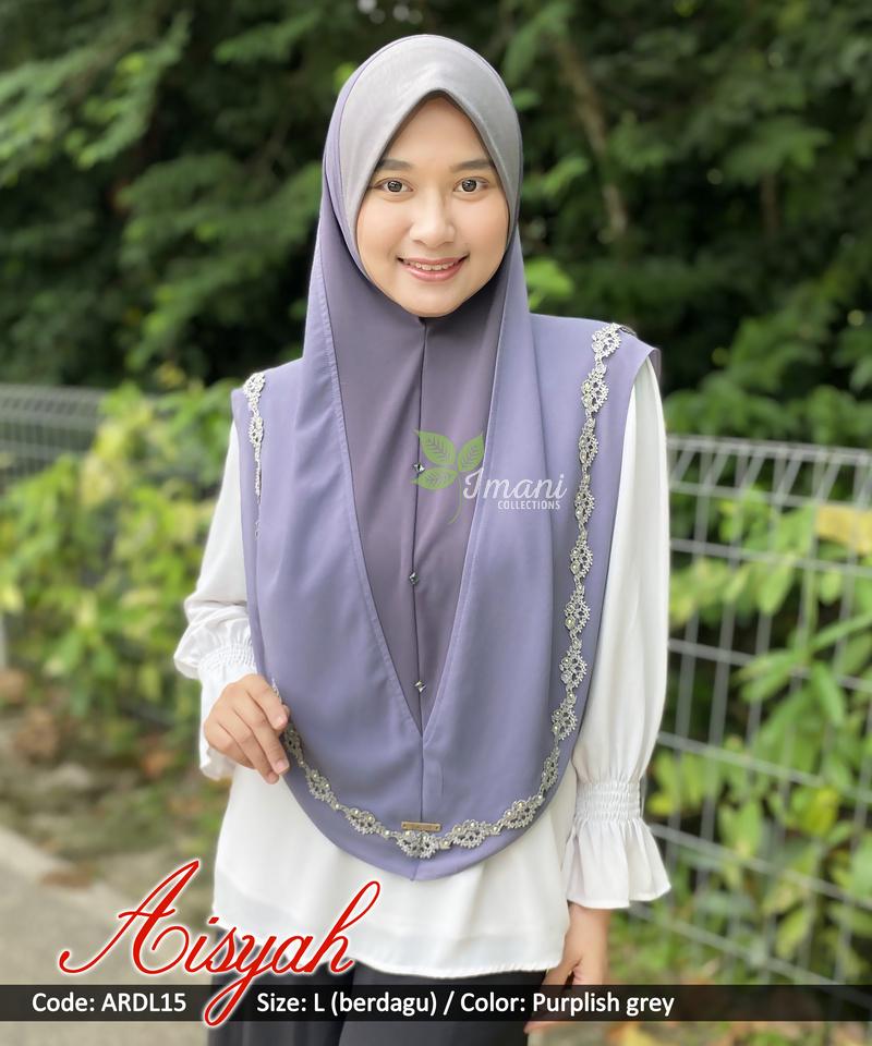 ARDL15 - Tudung Aisyah L (BERDAGU)