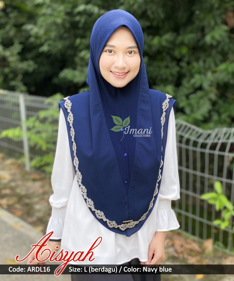 ARDL16 - Tudung Aisyah L (BERDAGU)