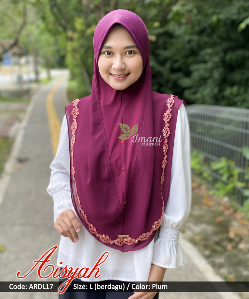 ARDL17 - Tudung Aisyah L (BERDAGU)