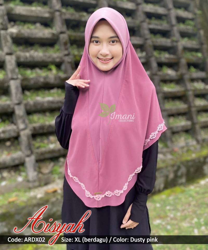 ARDX02 - Tudung Aisyah XL (BERDAGU)