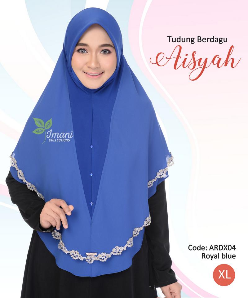 ARDX04 - Tudung Aisyah XL (BERDAGU)