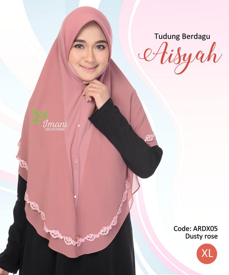 ARDX05 - Tudung Aisyah XL (BERDAGU)