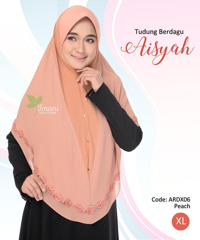 ARDX06 - Tudung Aisyah XL (BERDAGU)