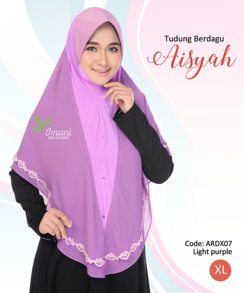 ARDX07 - Tudung Aisyah XL (BERDAGU)
