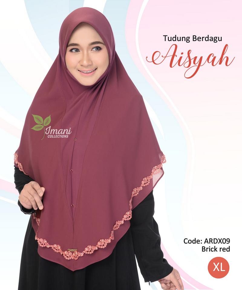 ARDX09 - Tudung Aisyah XL (BERDAGU)