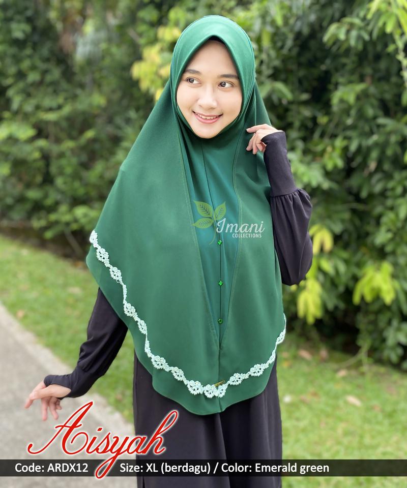ARDX12 - Tudung Aisyah XL (BERDAGU)
