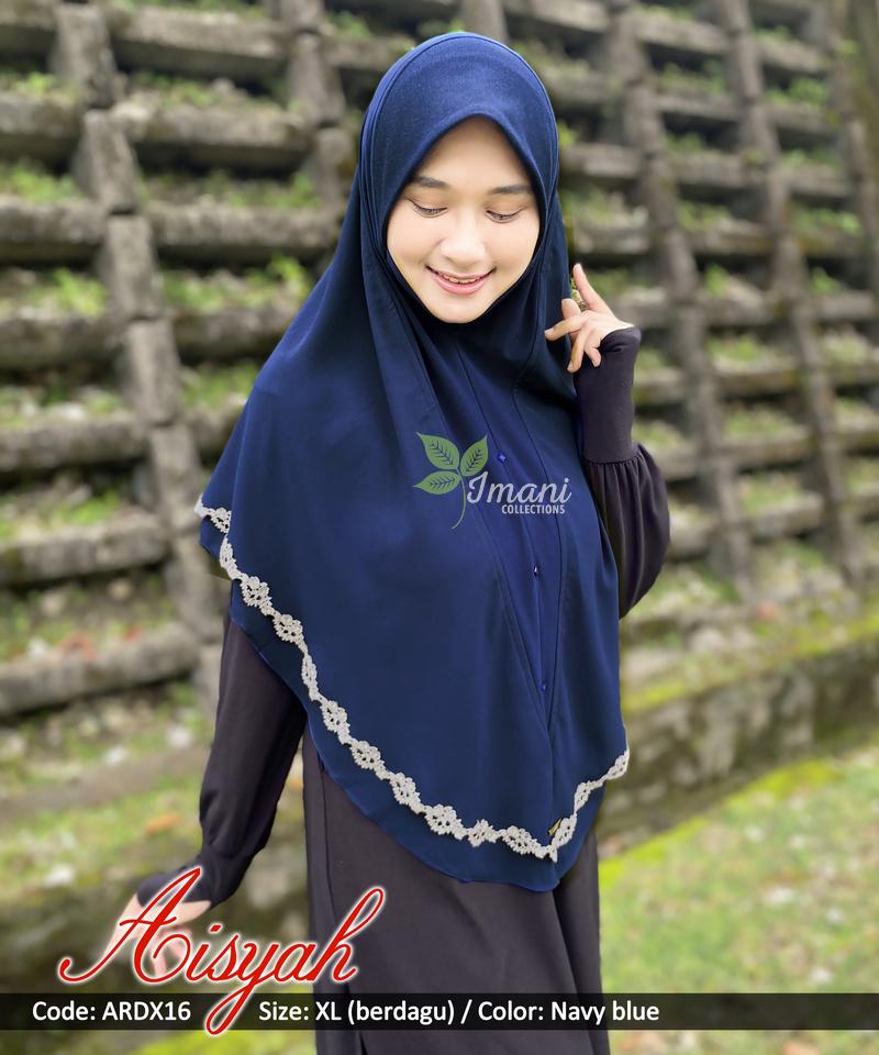 ARDX16 - Tudung Aisyah XL (BERDAGU)