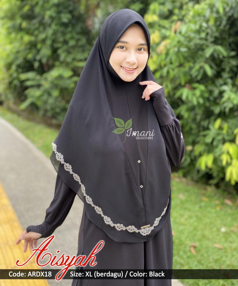 ARDX18 - Tudung Aisyah XL (BERDAGU)
