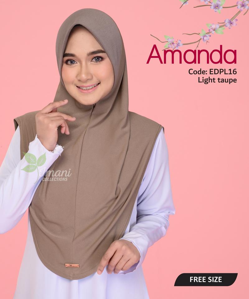 EDPL16 - Tudung Amanda