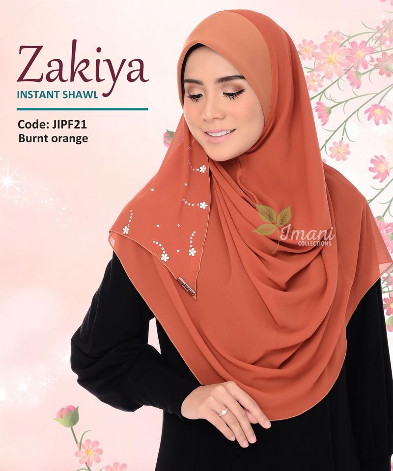 JIPF21 - Shawl Instant Zakiya