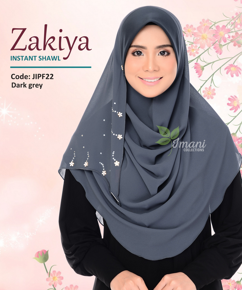 JIPF22 - Shawl Instant Zakiya