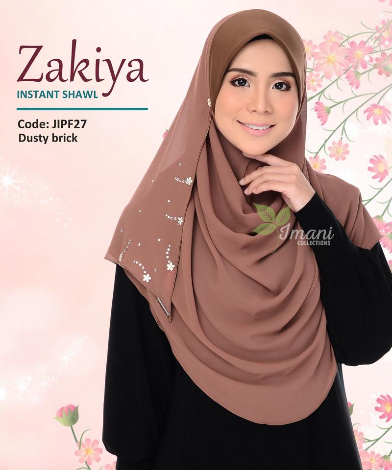 JIPF27R - Shawl Instant Zakiya (REJECT)