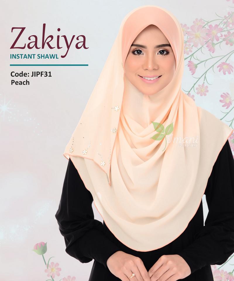 JIPF31R - Shawl Instant Zakiya (REJECT)