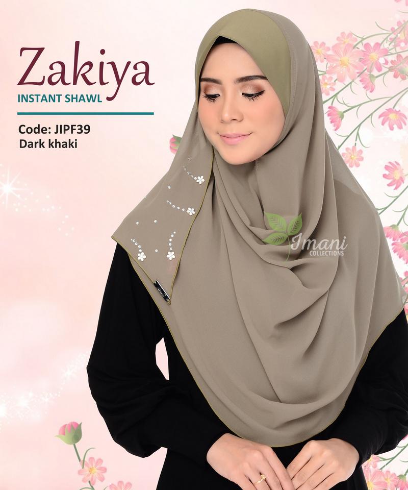 JIPF39 - Shawl Instant Zakiya