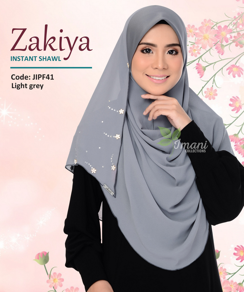 JIPF41R - Shawl Instant Zakiya (REJECT)