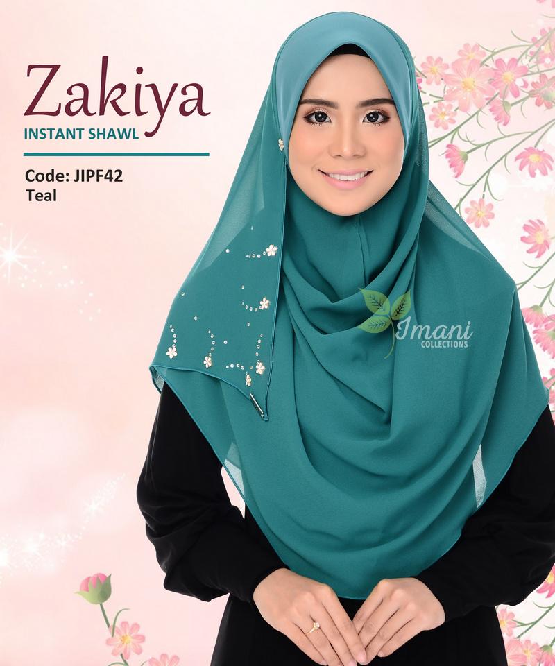 JIPF42R - Shawl Instant Zakiya (REJECT)