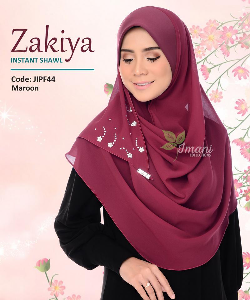JIPF44R - Shawl Instant Zakiya (REJECT)